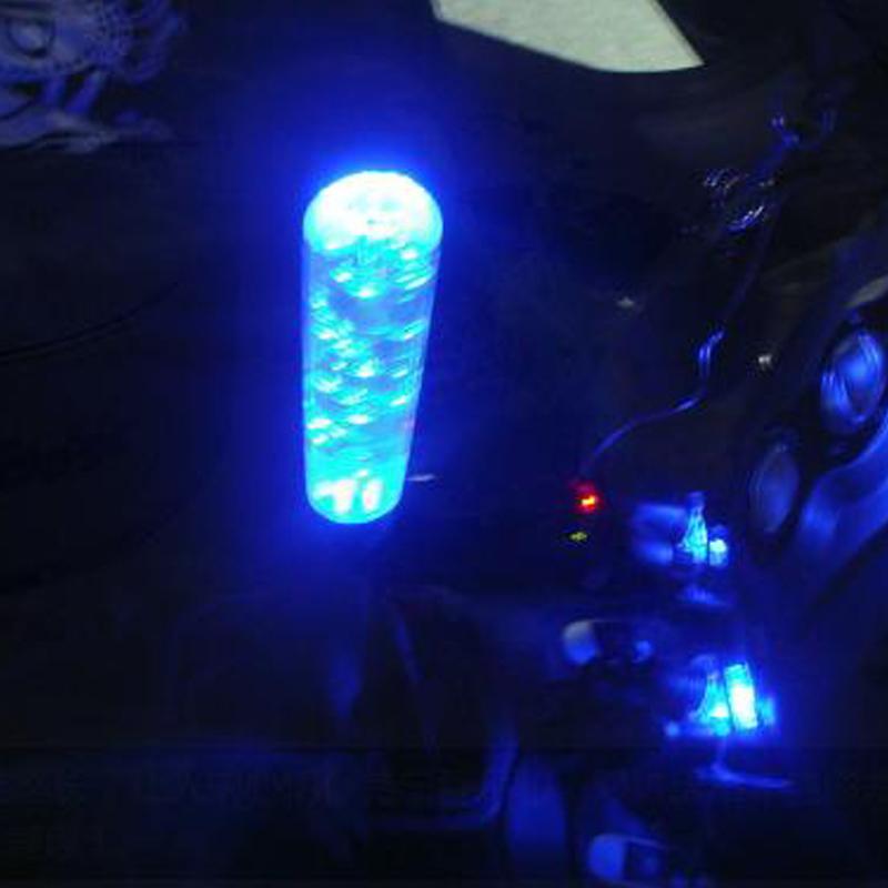 Universal 15cm Crystal Bubble Led Light Shift Knob