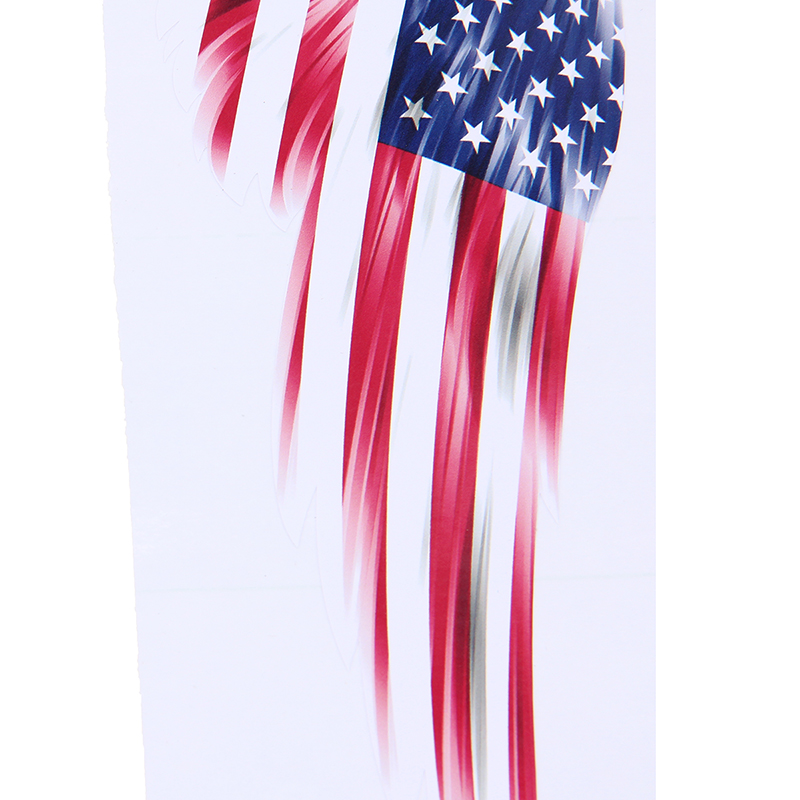 American Usa Flag Wing Emblem Badge Car Window Door Fender