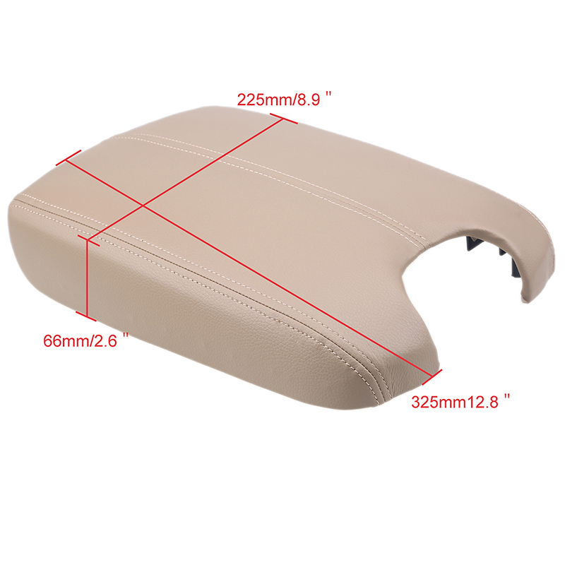 Honda Crosstour Seat Covers Car Armrest Seat Cover Center Console Beige Leather For Honda Accord ...