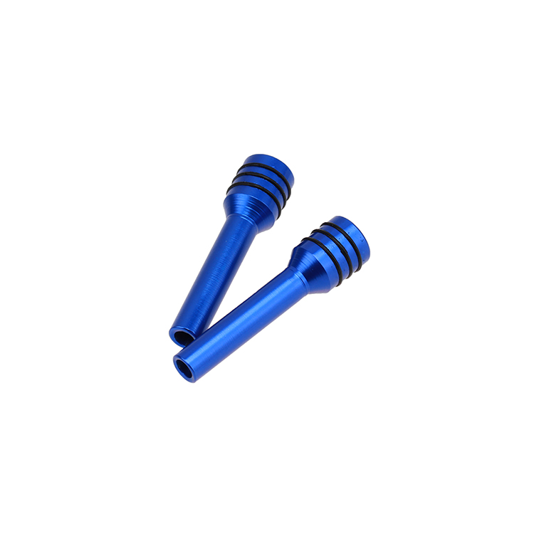 2x car truck auto interior door lock locking knob pull pins aluminum alloy blue. Black Bedroom Furniture Sets. Home Design Ideas