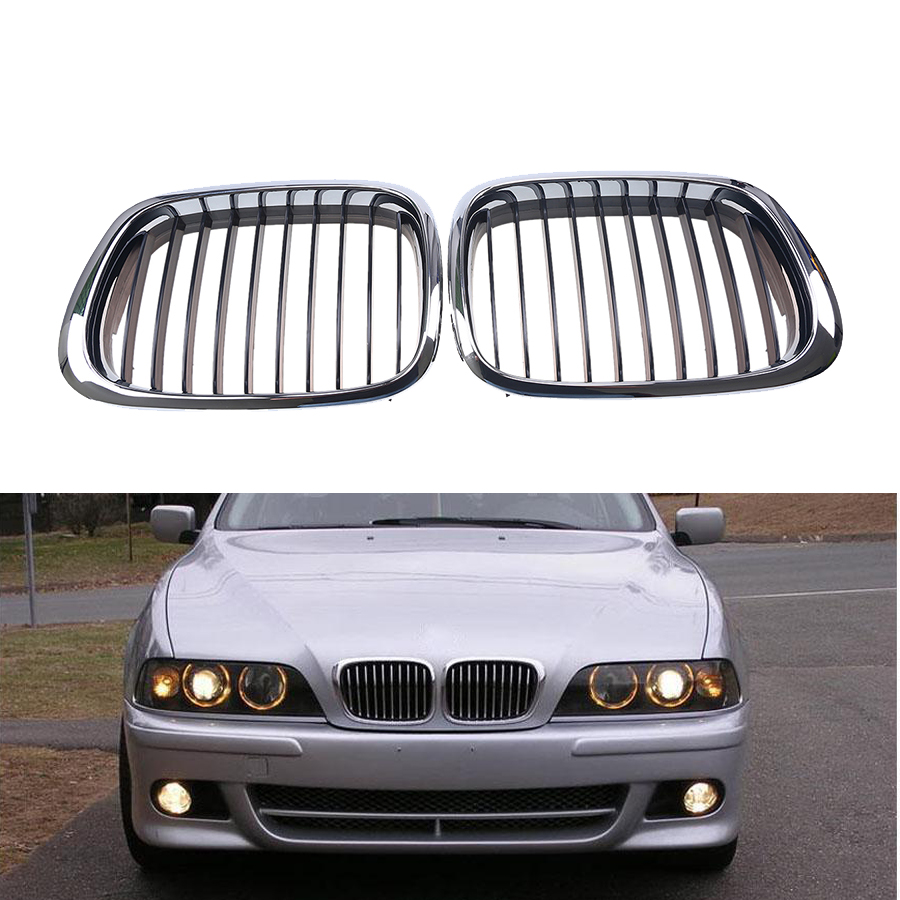 Bmw Grills: Front Black Wide Kidney Grille Grill For BMW E39 525 528