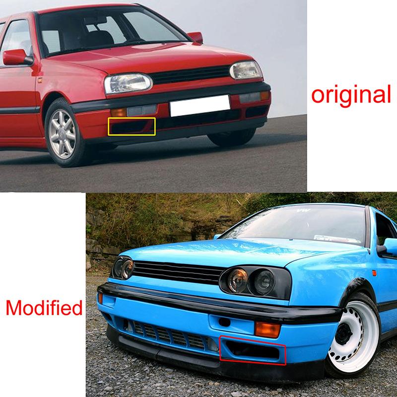2x Car Bumper Grille Front Fog Lights Lamps For 1993-1998