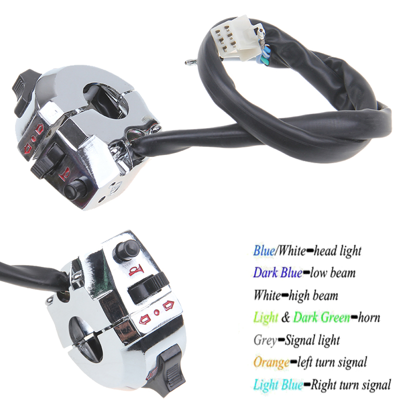 """Light Controller For Motorcycles: New Motorcycle 7/8"""" Handlebar Headlight Turn Signals Light"""