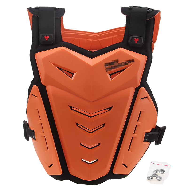 Motocross Body Armour Protection Bike Cycling Enduro Spine Chest Protector