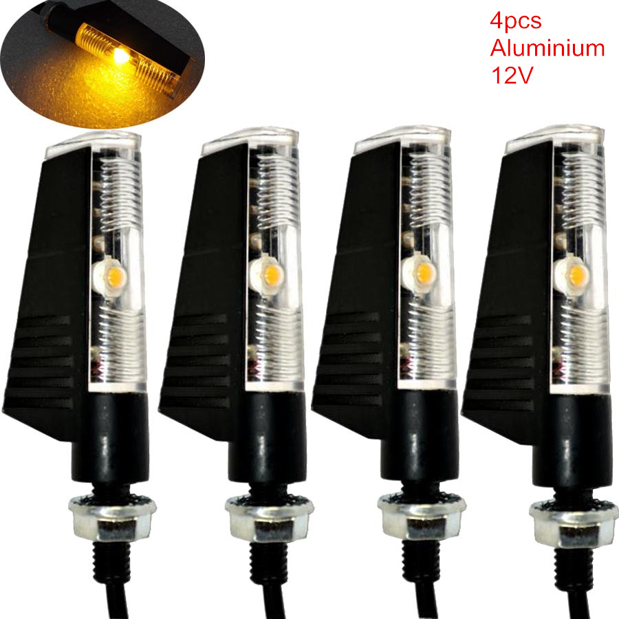 4 x motorcycle led turn signal light indicator blinker. Black Bedroom Furniture Sets. Home Design Ideas