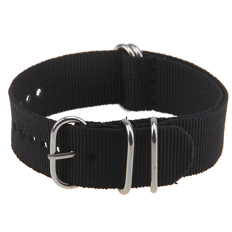 New Arrival Nato Style 20mm 22mm Military Nylon Wrist Watch Band Strap