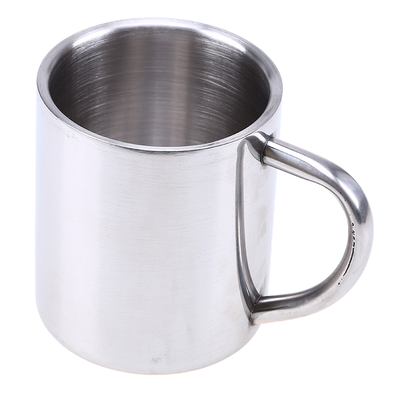 how to clean stainless steel coffee mug