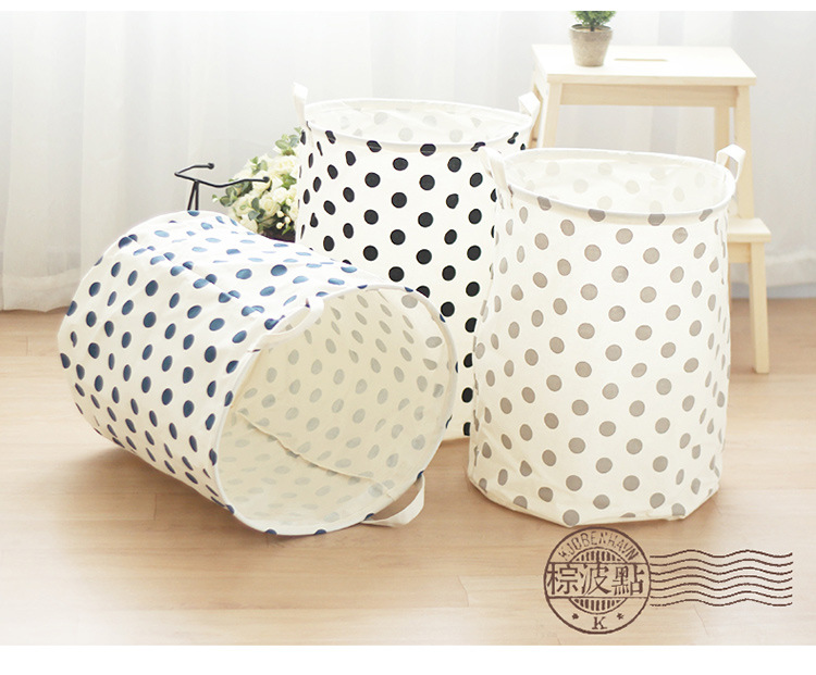 Cotton Sorter Bag Washing Laundry Hamper Toy Clothes
