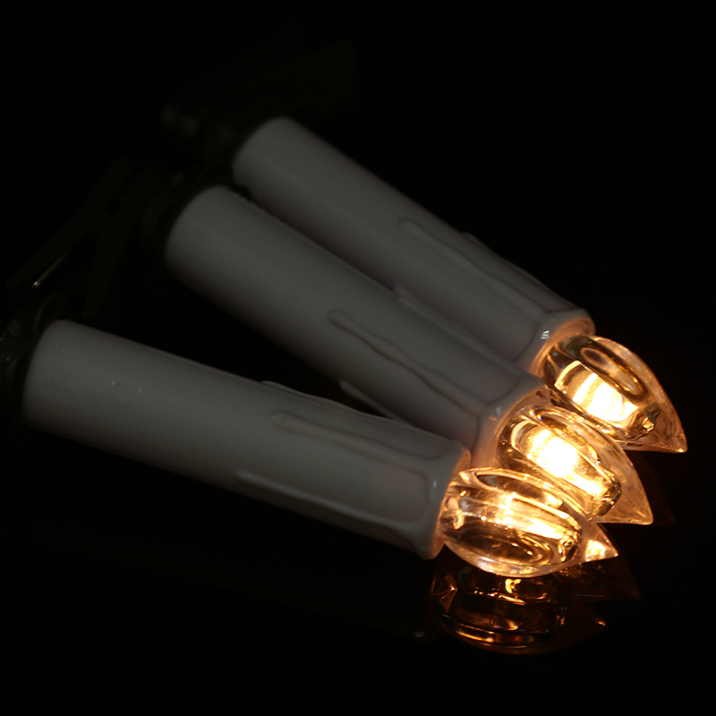 10x flameless remote control church christmas tree aa battery led candles lights ebay. Black Bedroom Furniture Sets. Home Design Ideas