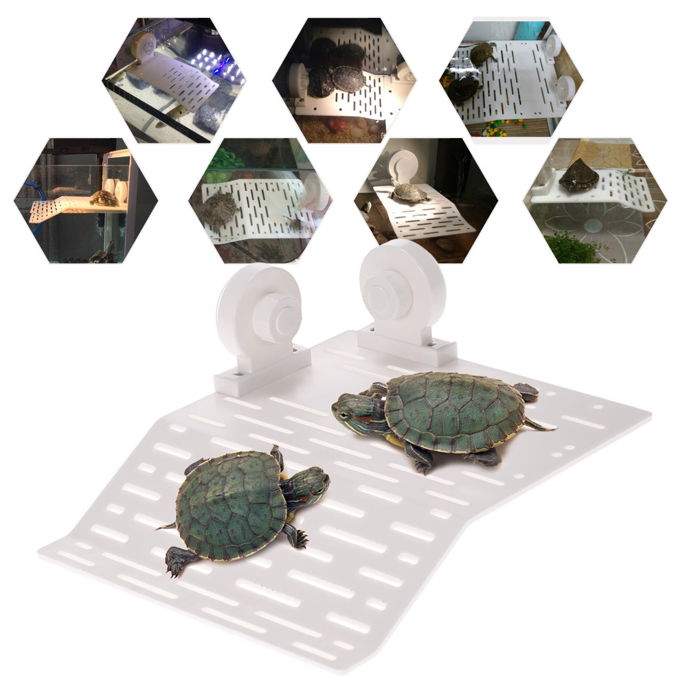 Aquarium tank reptile turtle basking terrace floating Turtle decorations for home