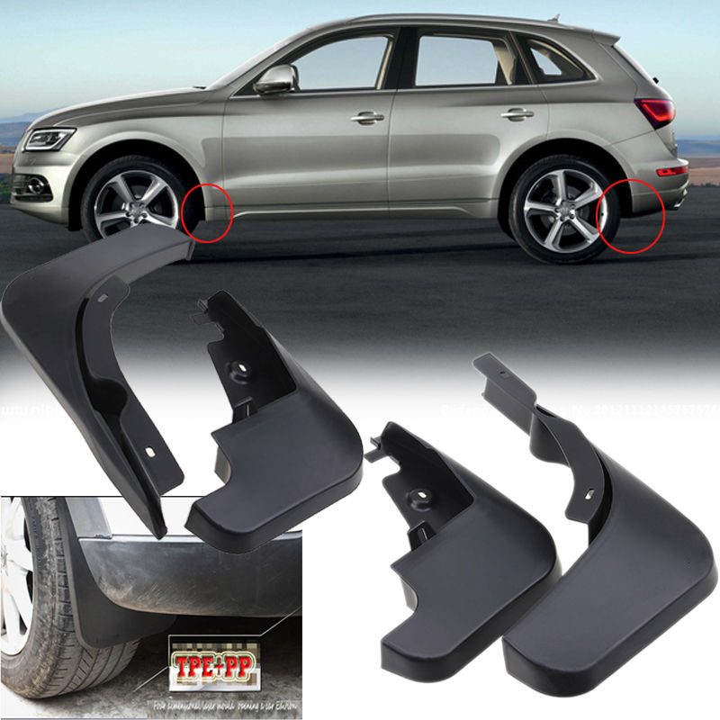 Mud Flaps Splash Guards Car Front Rear for Audi Q5 2010 2011 2012 2013 2014 2015 | eBay