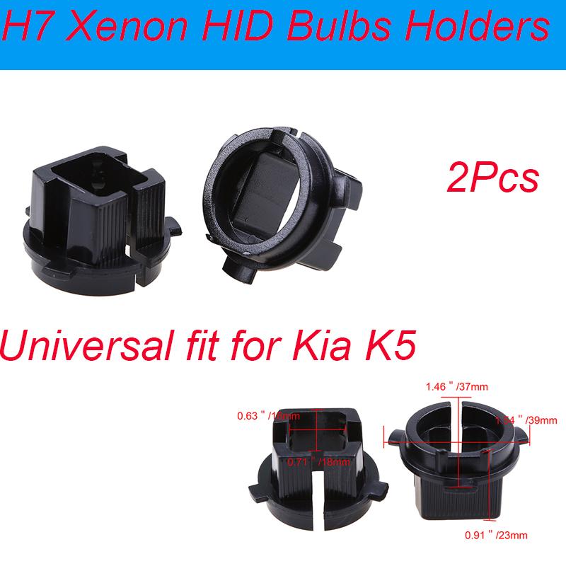 H7 Headlight Bulb Socket : Pcs h hid xenon headlight socket head light bulb holder