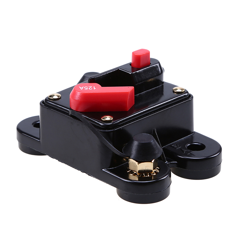125 Amp In Audio  Car  Rv 125a Fuse Holder Fits 12v Dc