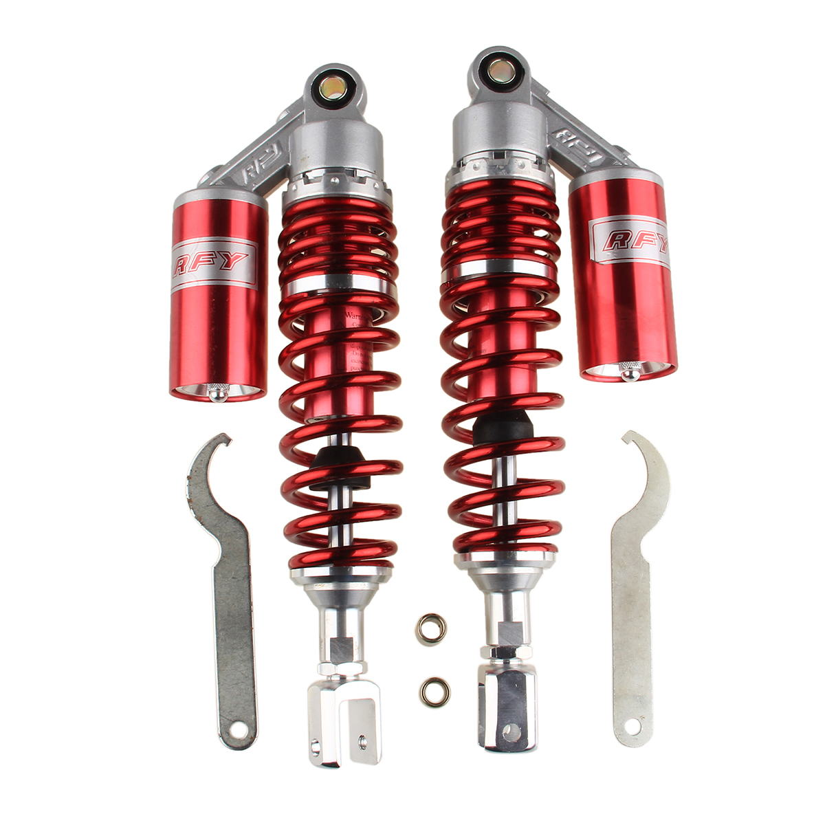 2x 13.5/'/' 340mm Rear Air Cylinder Shock Absorbers Suspension Spring Universal