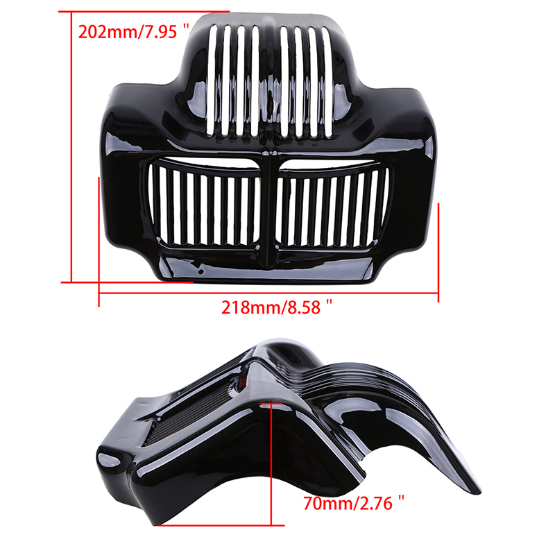 Harley Road King For Sale >> 1xMotorcycle Oil Cooler Cover for Harley Davidson Touring ...