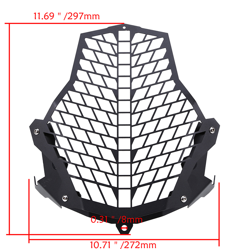 Front Lamp Headlight Guards Protector Cover For KTM 1290 1190 Adventure /& R Adv