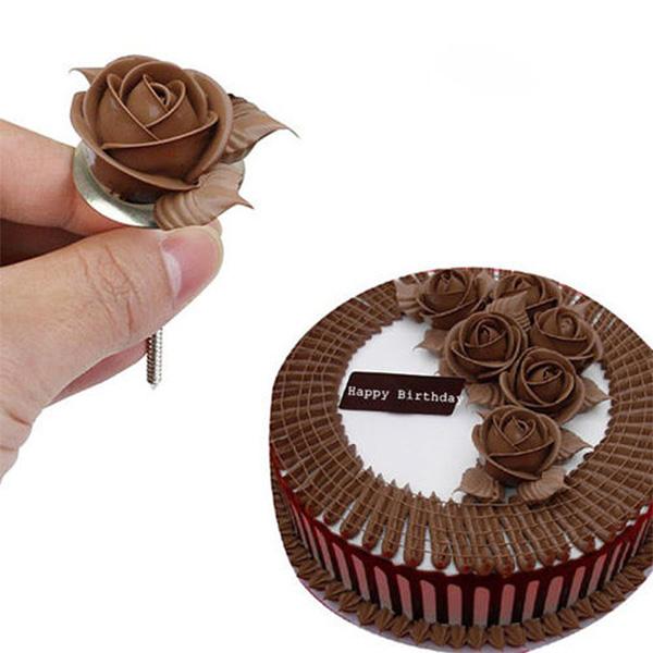 Flower Nail Cake: 1PCS Cake Decorating Flower Nails Mini Flower Pasty Tools