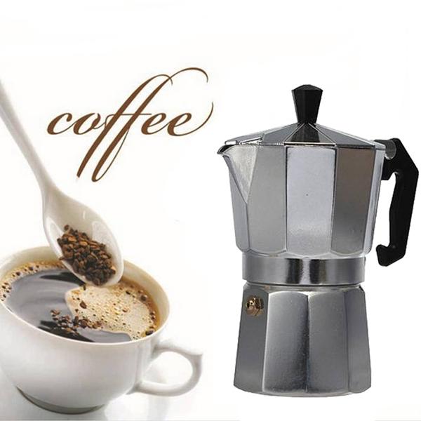 1 X Aluminum Moka Espresso Latte Percolator