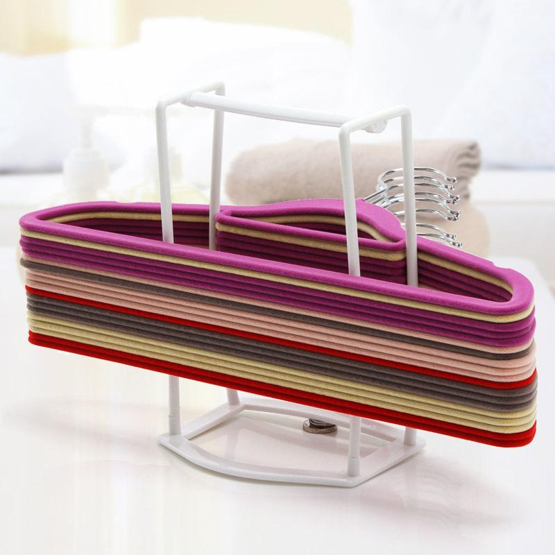 Merveilleux DIY Coat Clothes Hanger Storage Organizer Closet U0026 Room Storage Tools
