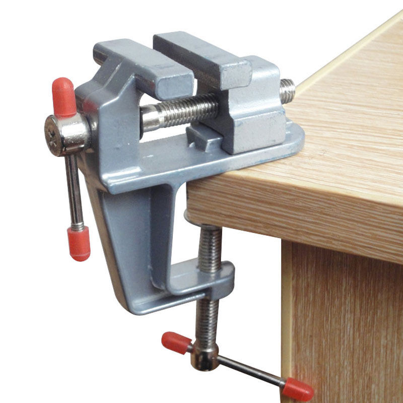 Astounding Details About 3 5 Aluminum Portable Jewelers Hobby Clamp On Table Bench Vise Tool Mini Ab Andrewgaddart Wooden Chair Designs For Living Room Andrewgaddartcom
