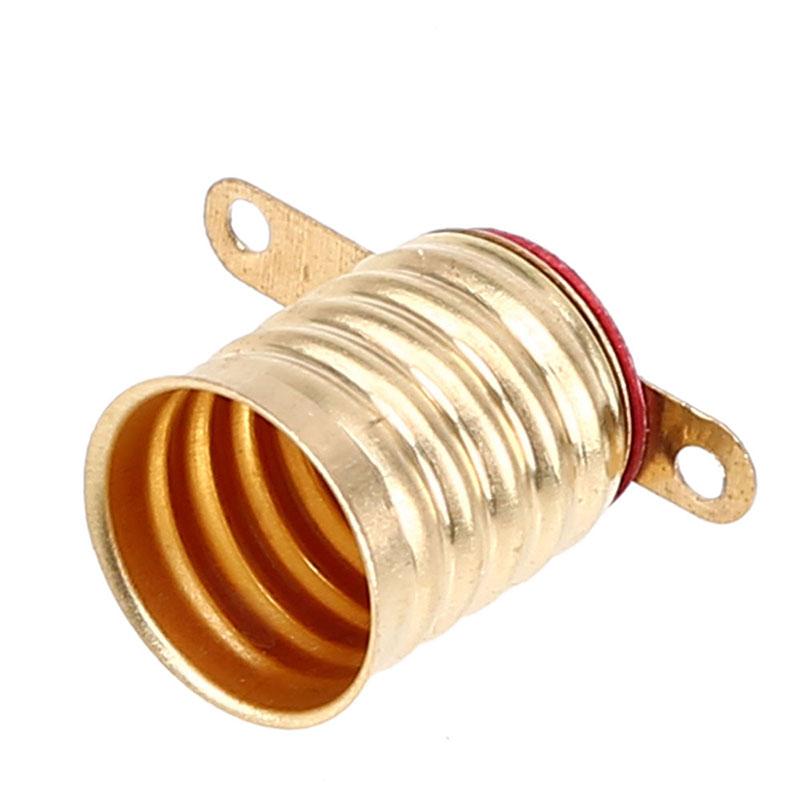 E lamp holder small light bulb base screw socket old