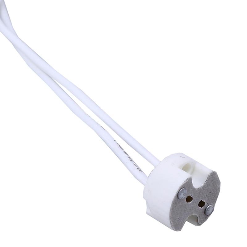MR11 MR16 GU5.3 G4 Wire Connector Halogen LED Bulbs W4I4 Base Socket Holder C8G0